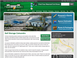 screenshot of Fort Knox Storage Caloundra