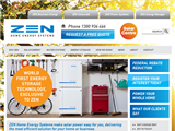 screenshot of Zen Home Energy