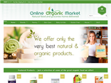 screenshot of Online Organic Market