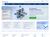 screenshot of Acronis Inc