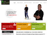 screenshot of Hillson Cleaning Services